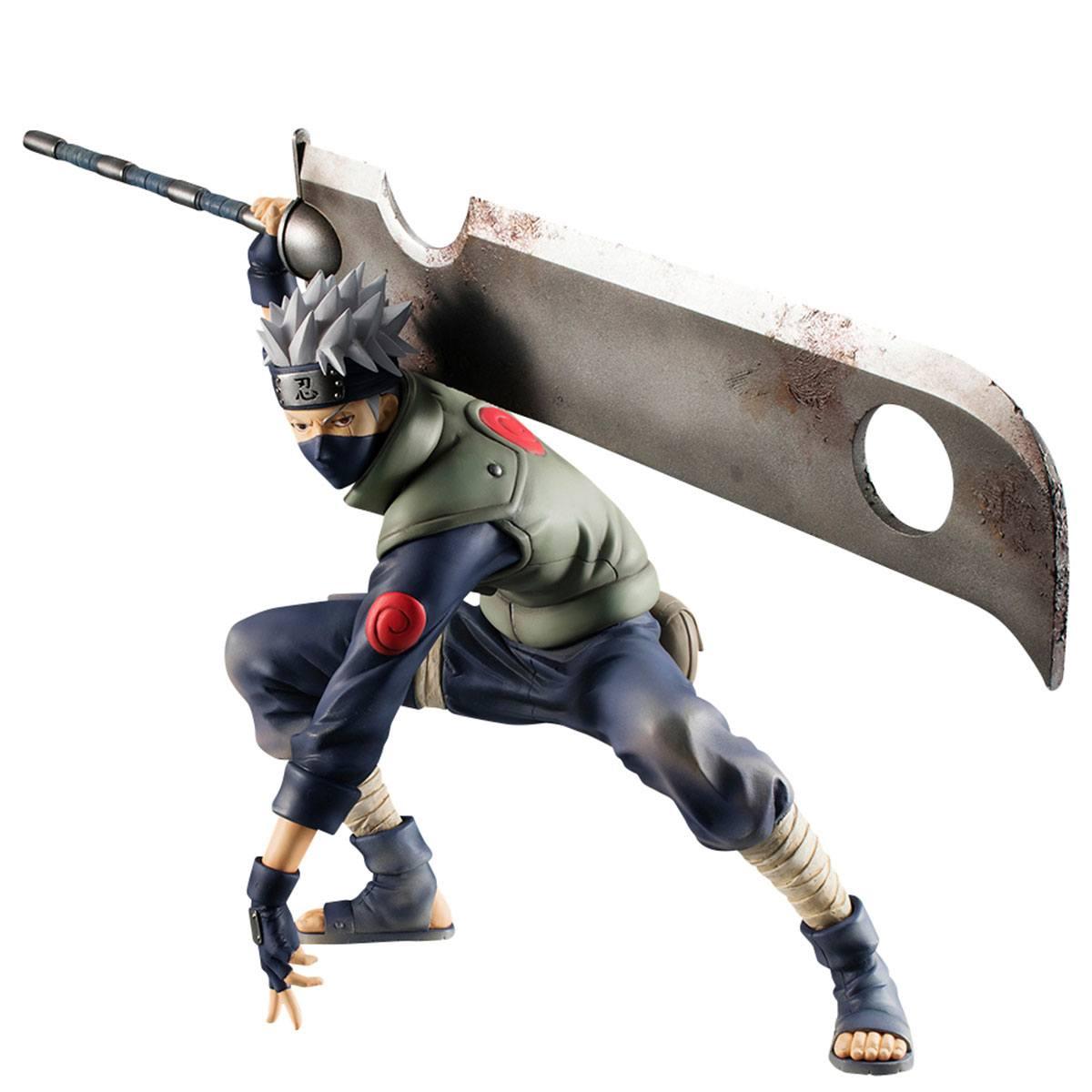 Naruto Shippuden G.E.M. Series PVC Statue 1/8 Hatake Kakashi Ver. Ninkaitaisen 15 cm