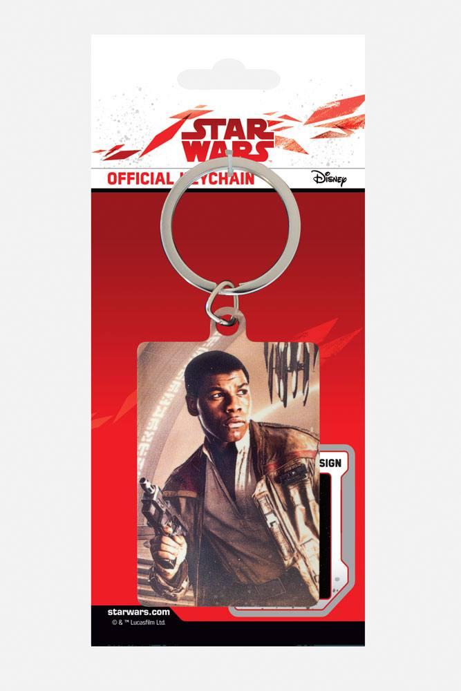Star Wars Episode VIII Metal Keychain Finn Blaster 6 cm