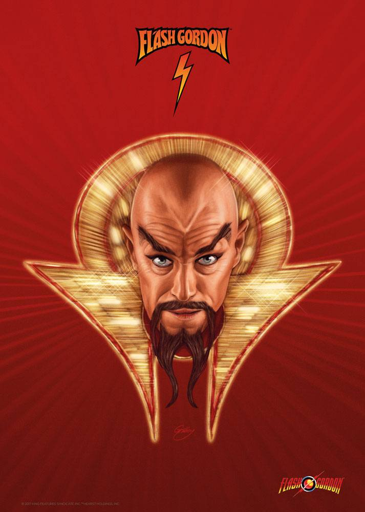 Flash Gordon Art Print Ming 42 x 30 cm