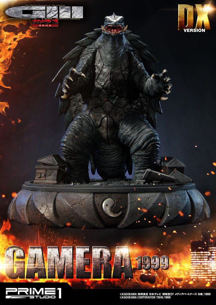 Gamera 3 The Revenge of Iris Statue Gamera Deluxe Version 66 cm
