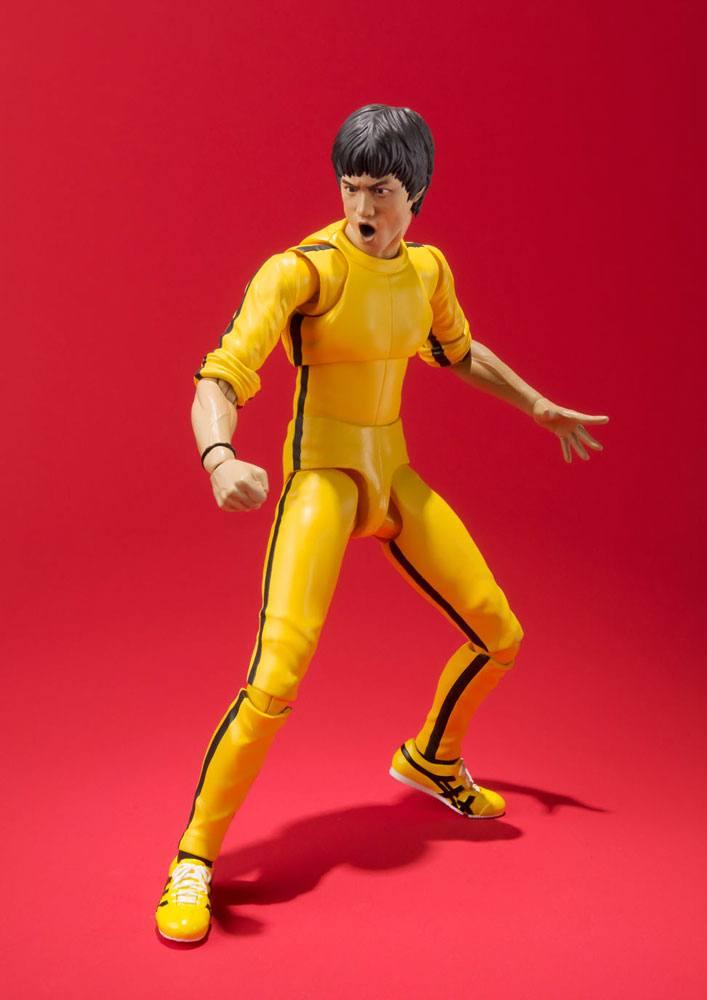 Bruce Lee S.H. Figuarts Action Figure Yellow Track Suit 14 cm