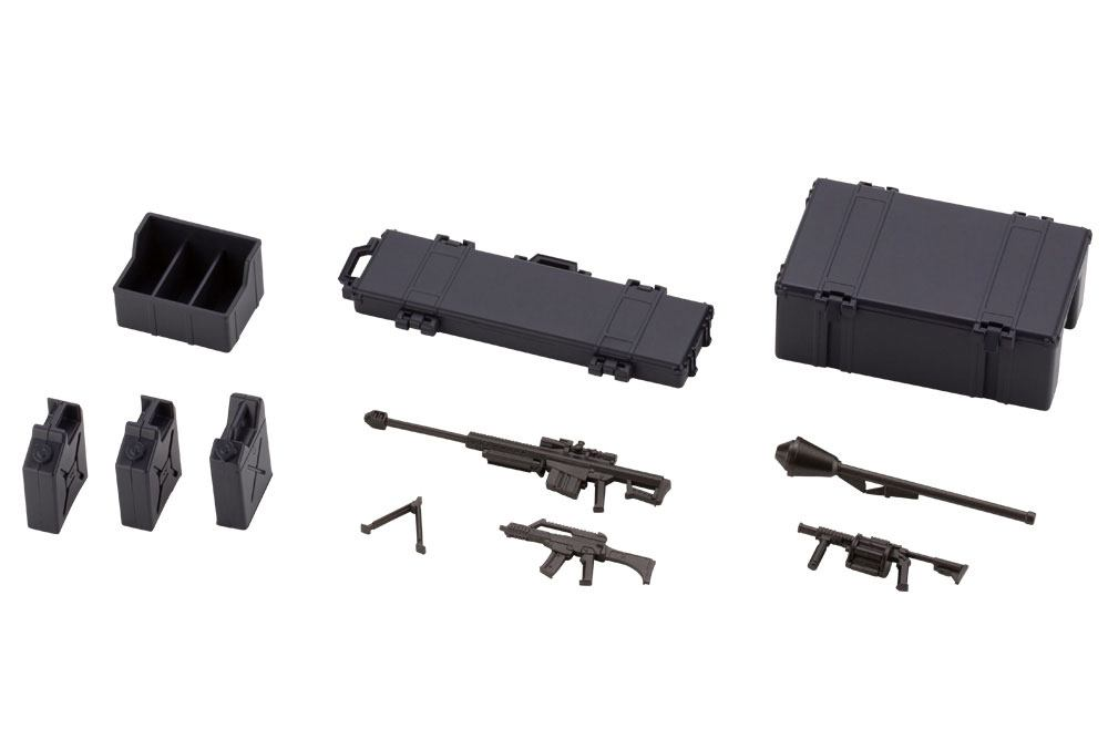 Hexa Gear Plastic Model Kit 1/24 Army Container Set Night Stalkers Ver. 6 cm