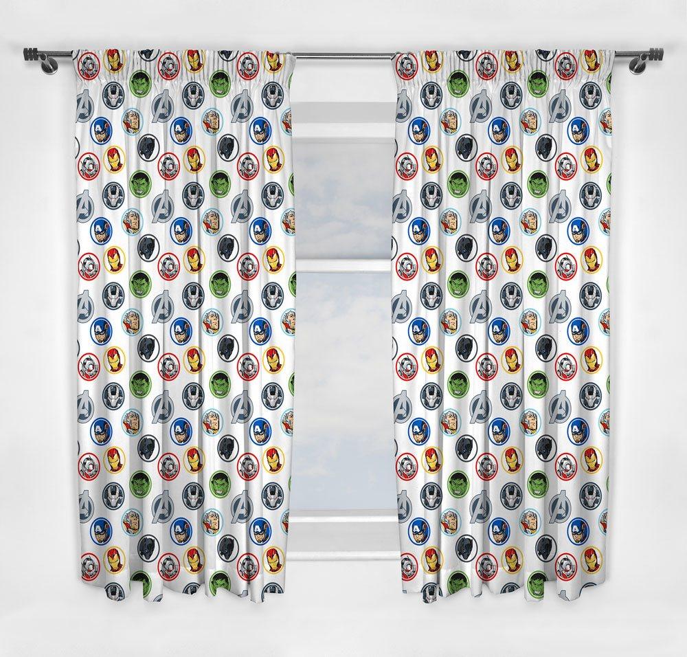 Marvel Curtains Avengers 183 cm