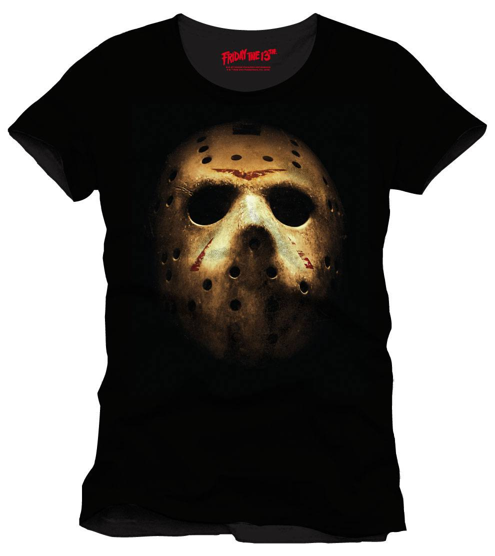 Friday the 13th T-Shirt Jason Mask Size XL