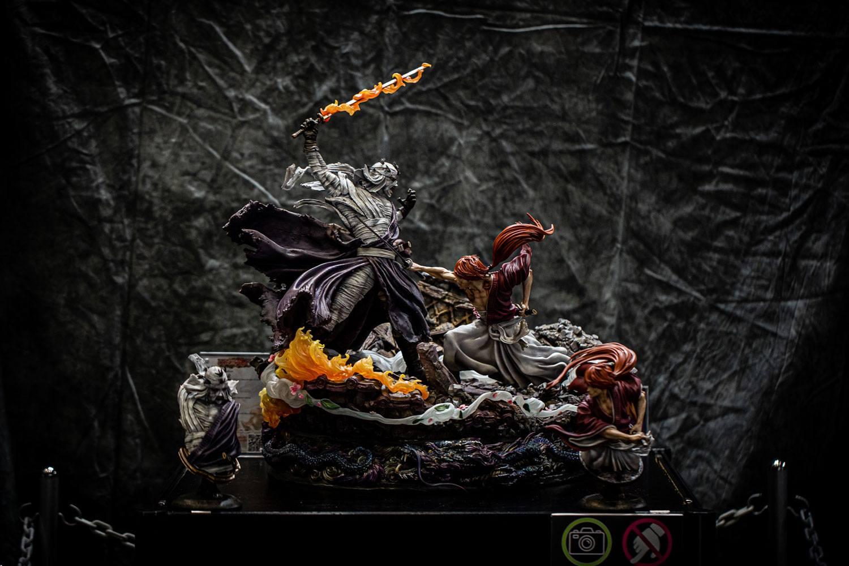 Rurouni Kenshin Elite Exclusive Statue 1/6 Kenshin vs. Shishio 25th Anniversary Edition 60 cm