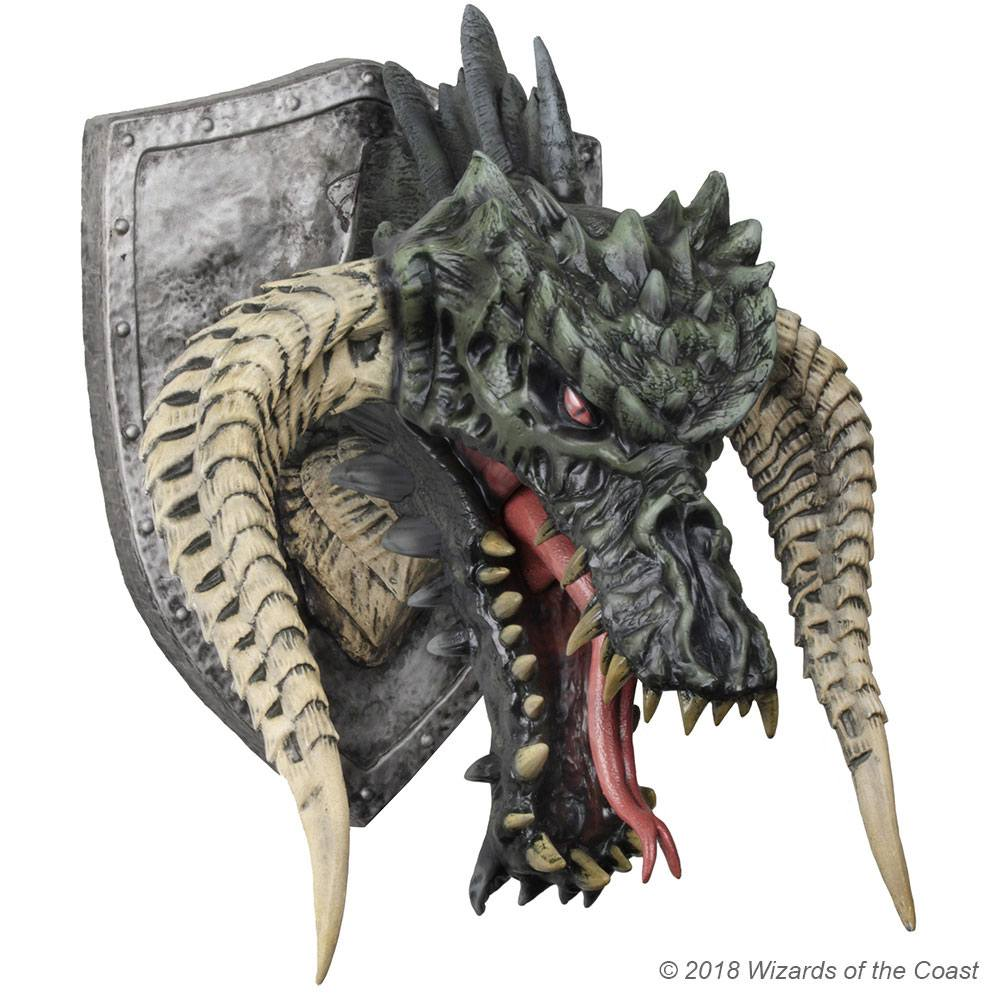 Dungeons & Dragons Trophy Figure Black Dragon (Foam Rubber/Latex) 81 cm