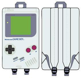 Nintendo Mini Backpack Gameboy Screenprint