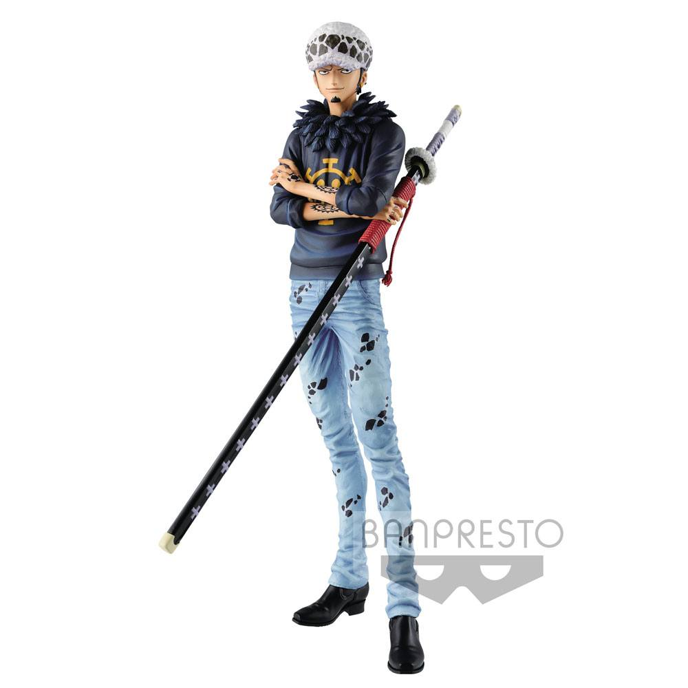 One Piece Grandista Resolution of Soldiers Figure Trafalgar Law 29 cm