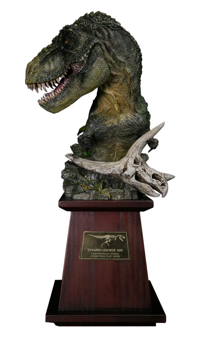 Paleontology World Museum Collection Series Bust Tyrannosaurus Rex Green Ver. 40 cm