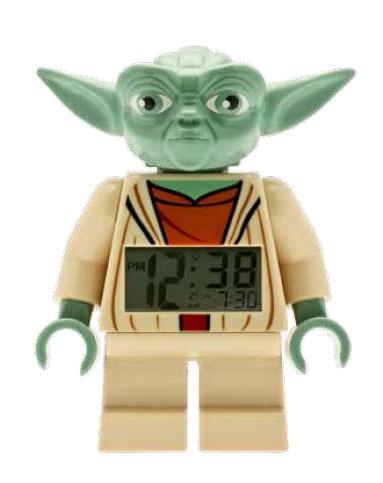 Lego Star Wars Alarm Clock Yoda 17 cm