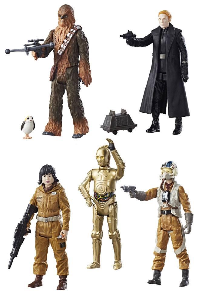 Star Wars Episode VIII Force Link Action Figures 10 cm 2017 Teal Assortment Wave 1 Assortment (12)