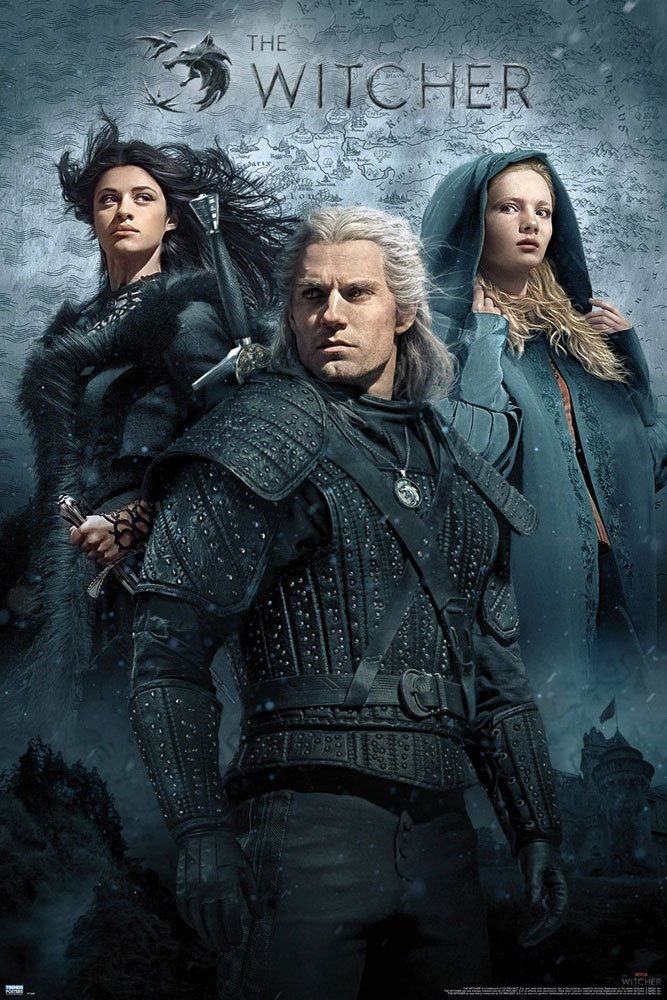The Witcher Poster Pack Key Art 61 x 91 cm (5)