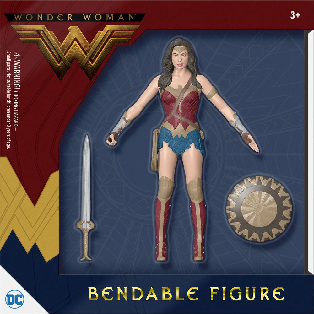 Wonder Woman Movie Bendable Figure Wonder Woman 14 cm