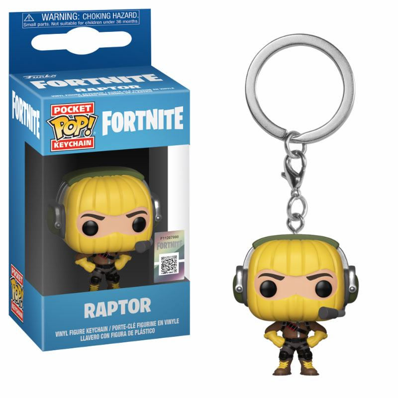 Fortnite Pocket POP! Vinyl Keychain Raptor 4 cm