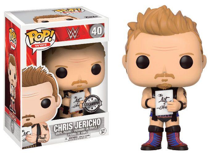 WWE Wrestling POP! WWE Vinyl Figure Chris Jericho 9 cm