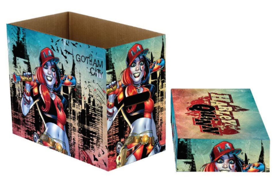 DC Comics Storage Boxes Harley Quinn Gotham 23 x 29 x 39 cm Case (5)