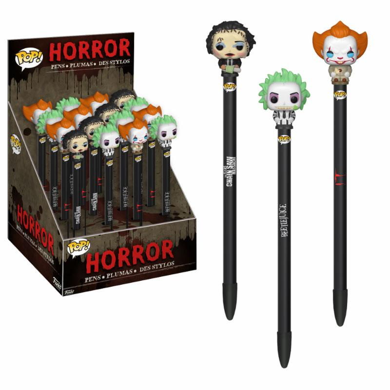 Horror POP! Pens with Toppers Display Classic (16)
