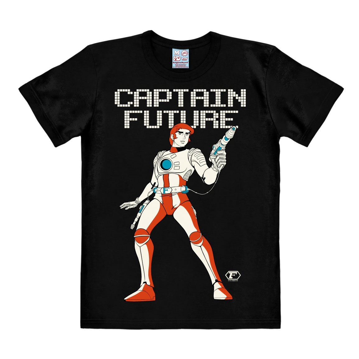 Captain Future T-Shirt Captain Size M