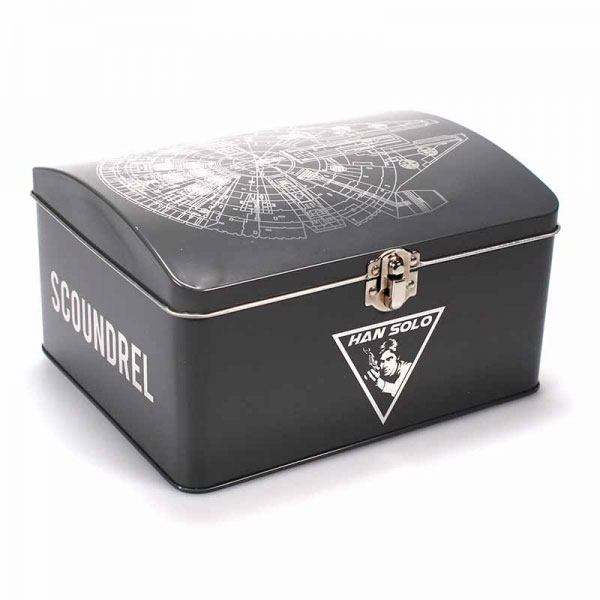 Star Wars Tin Box Millennium Falcon