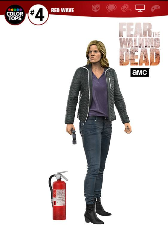 Fear The Walking Dead Color Tops Action Figure Madison Clark 18 cm