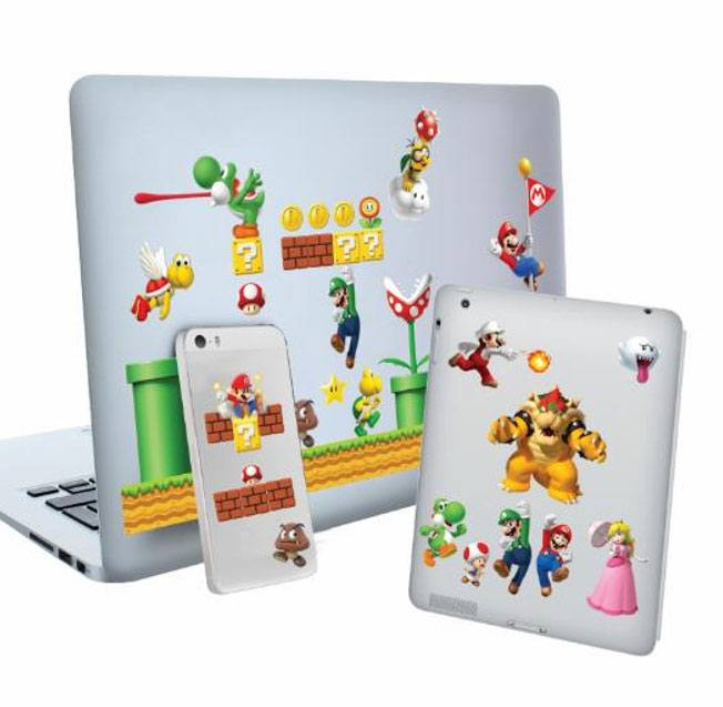 Super Mario Gadget Decals Level