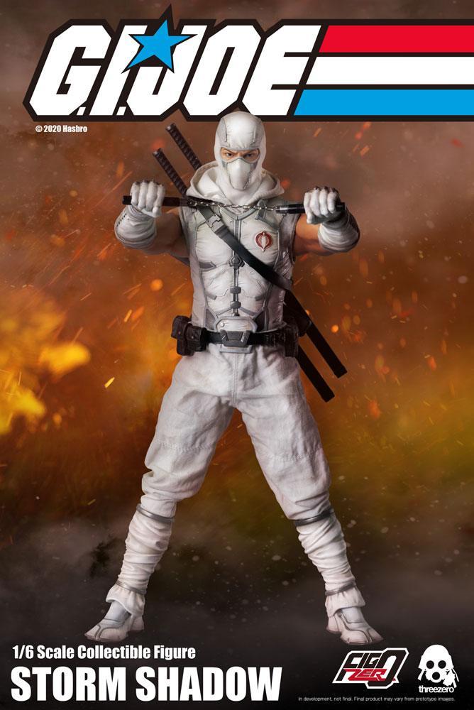 G.I. Joe FigZero Action Figure 1/6 Storm Shadow 30 cm