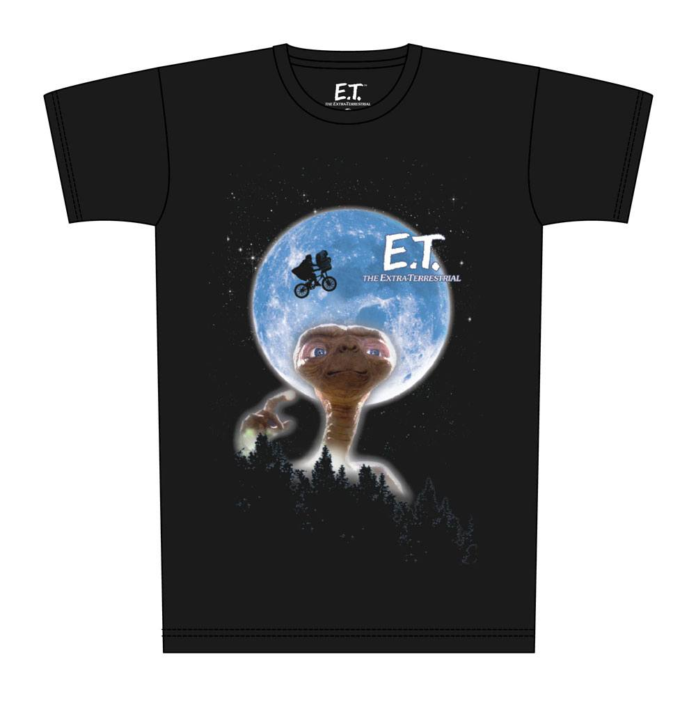 E.T. the Extra-Terrestrial T-Shirt Moon Poster Size M