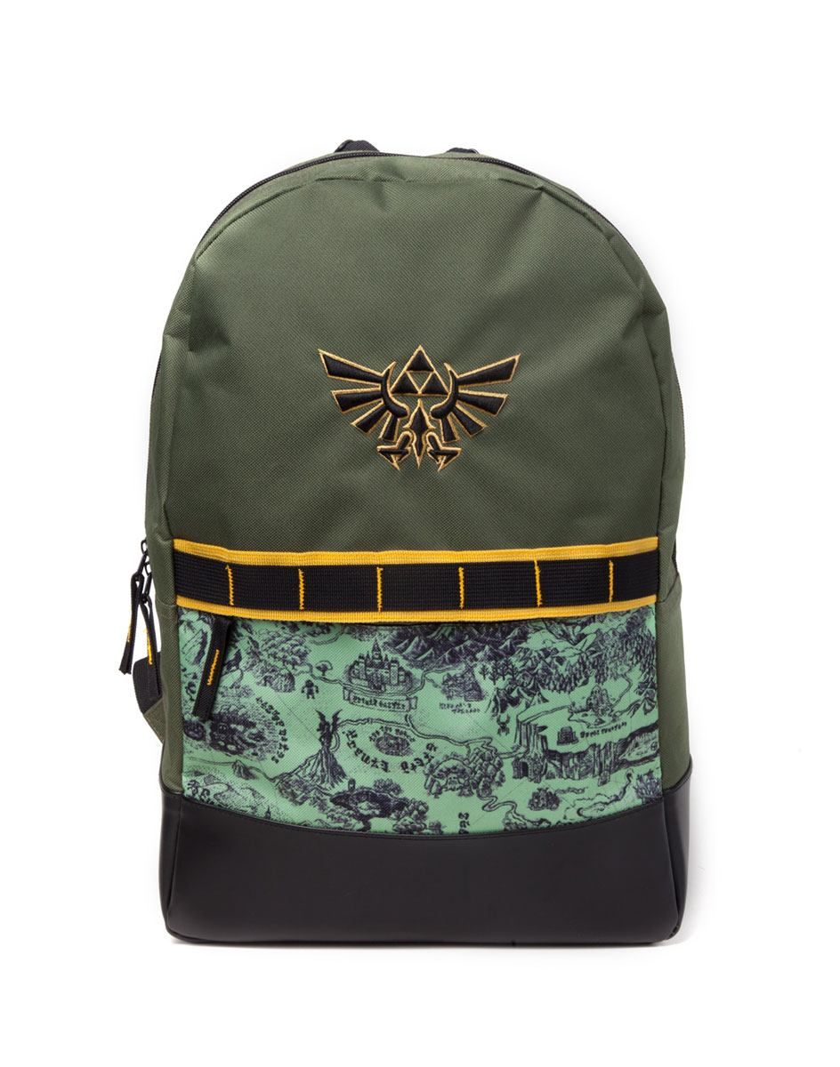 The Legend of Zelda Backpack Map