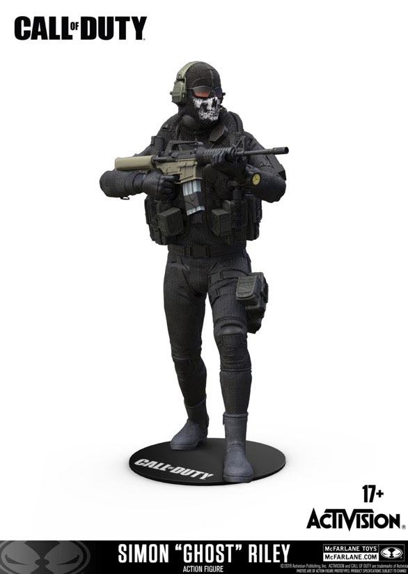 Call of Duty Action Figure Simon 'Ghost' Riley 15 cm