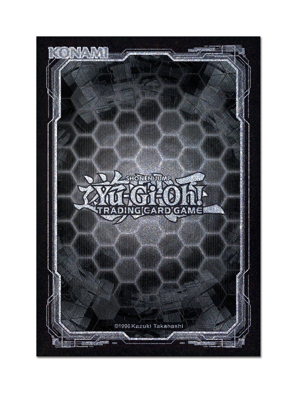 Yu-Gi-Oh! Card Sleeves Dark Black + Silver (50)