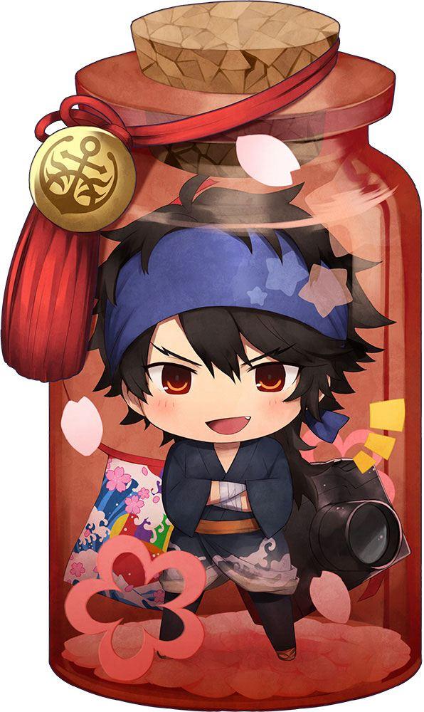Touken Ranbu -Hanamaru- Charatoria Acrylic Keychain Mutsunokami Yoshiyuki