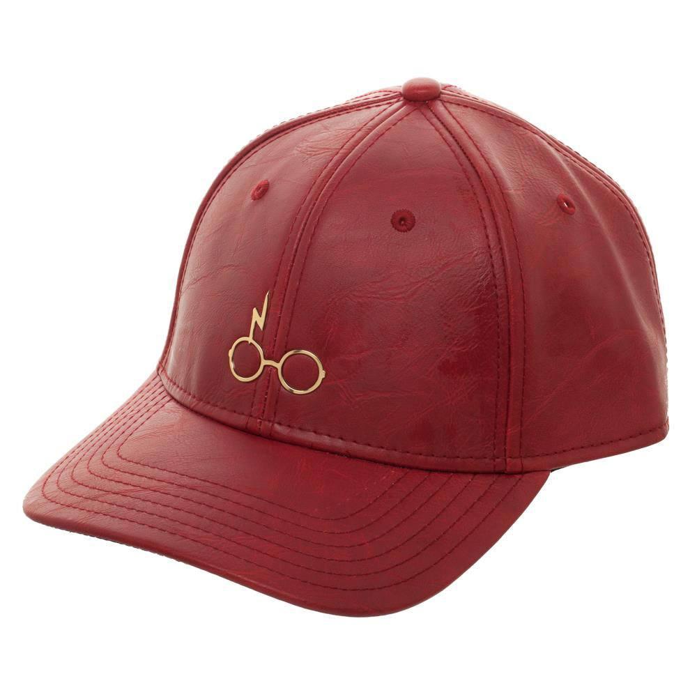 Harry Potter Baseball Cap Glasses Gold Logo