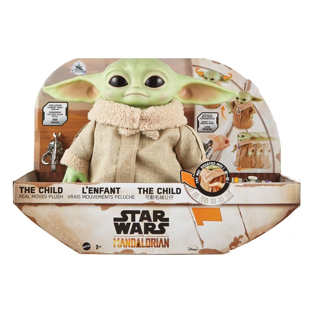 Star Wars The Mandalorian Electronic Plush Figure The Child 28 cm