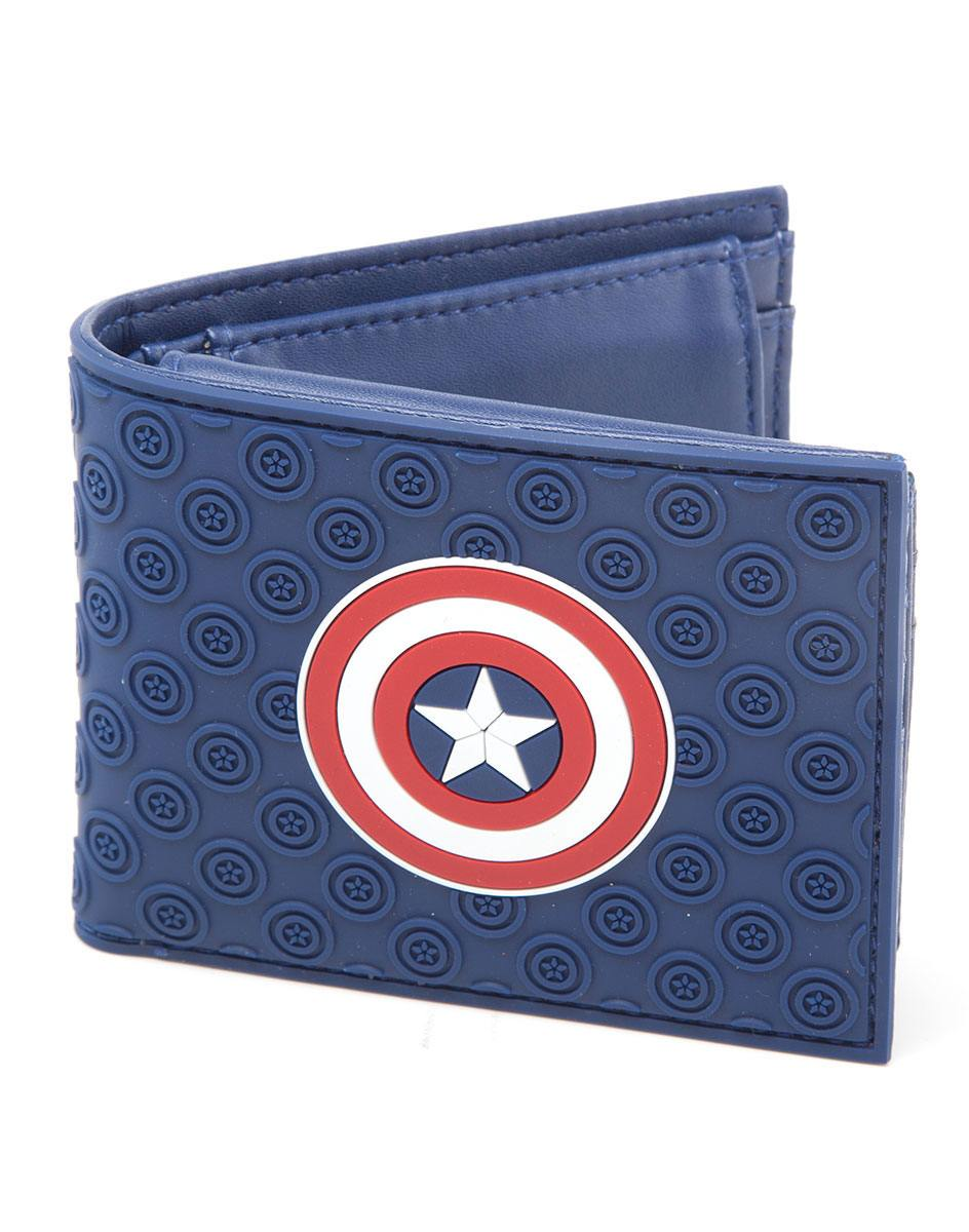 Captain America Civil War Wallet Shield Logo