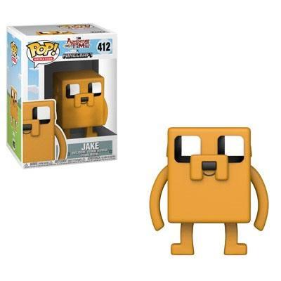 Adventure Time / Minecraft POP! Television Vinyl Figure Jake 9 cm