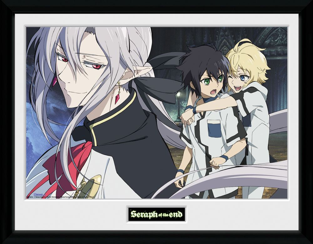 Seraph of the End Framed Poster Trio 45 x 34 cm