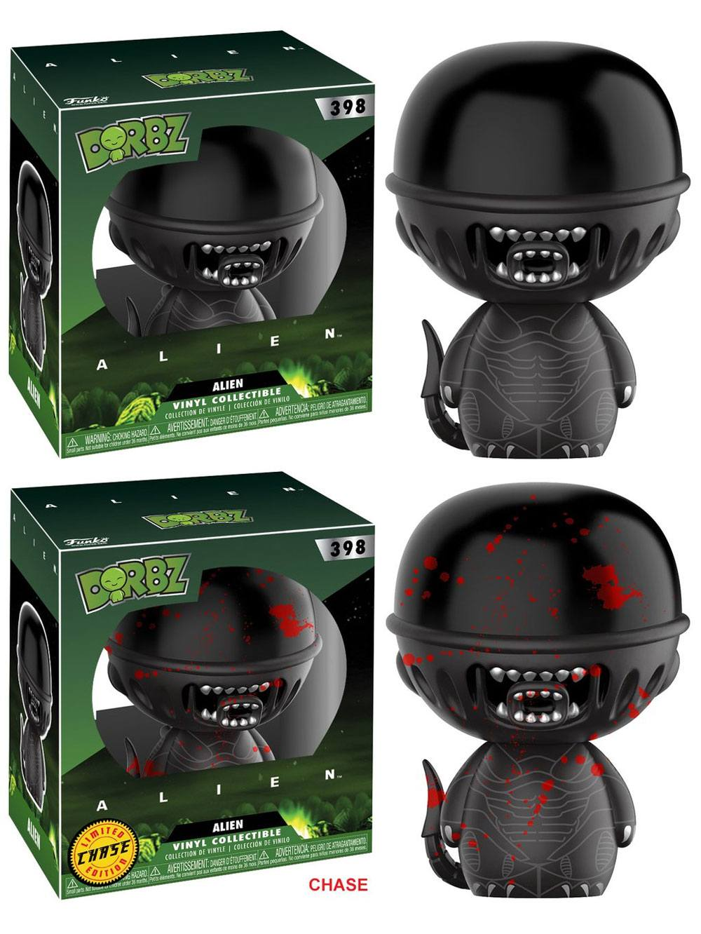 Alien Vinyl Sugar Dorbz Vinyl Figures Alien 8 cm Assortment (6)