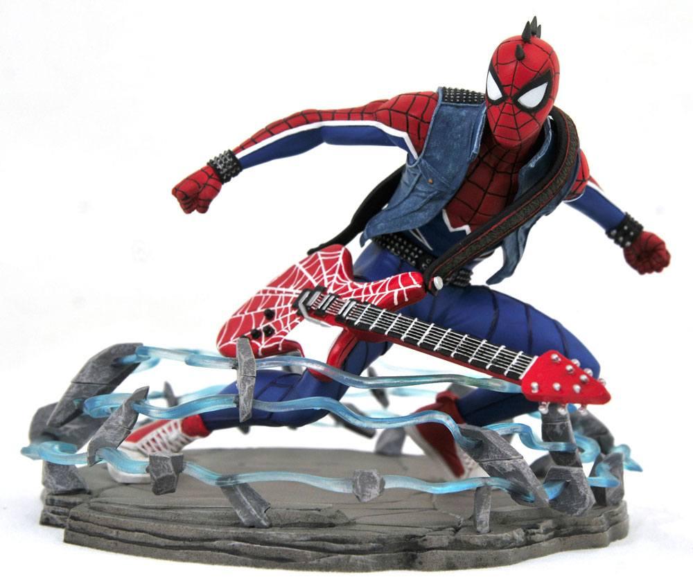 Spider-Man 2018 Marvel Video Game Gallery PVC Statue Spider-Punk Exclusive 18 cm