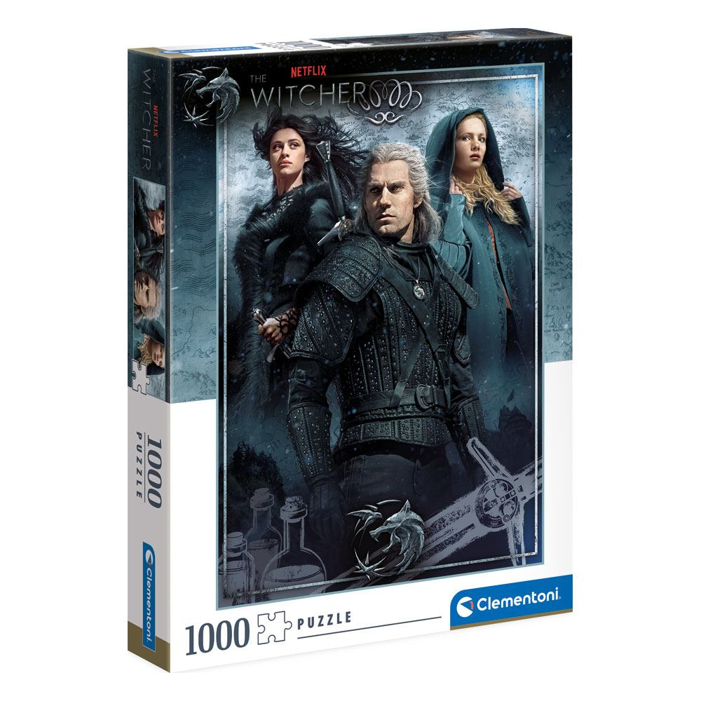 The Witcher Jigsaw Puzzle Ciri, Yennefer & Geralt (1000 pieces)