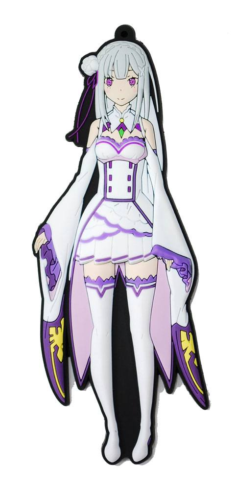 Re:ZERO -Starting Life in Another World- Rubber Strap Emilia 15 cm
