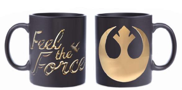 Star Wars Episode VIII Mug Feel The Force (Rebel Logo)