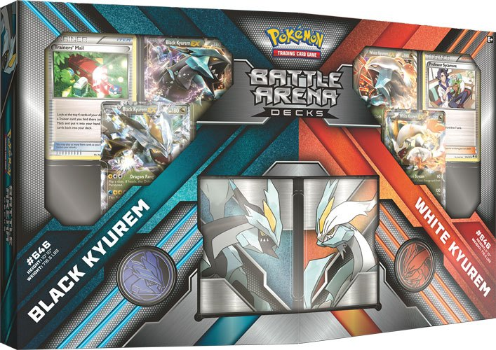 Pokemon Battle Arena Decks Black Kyurem vs. White Kyurem *English Version*