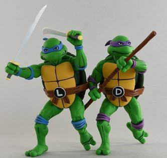 Teenage Mutant Ninja Turtles Action Figure 2-Pack Leonardo & Donatello 18 cm