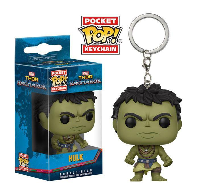 Thor Ragnarok Pocket POP! Vinyl Keychain Casual Hulk 4 cm