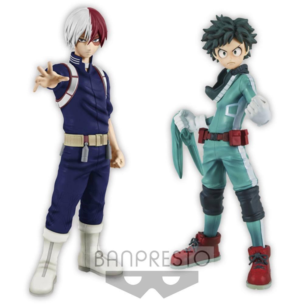 My Hero Academia DXF Figures 15 cm Izuki Midoriya & Shoto Todoroki Assortment (2)