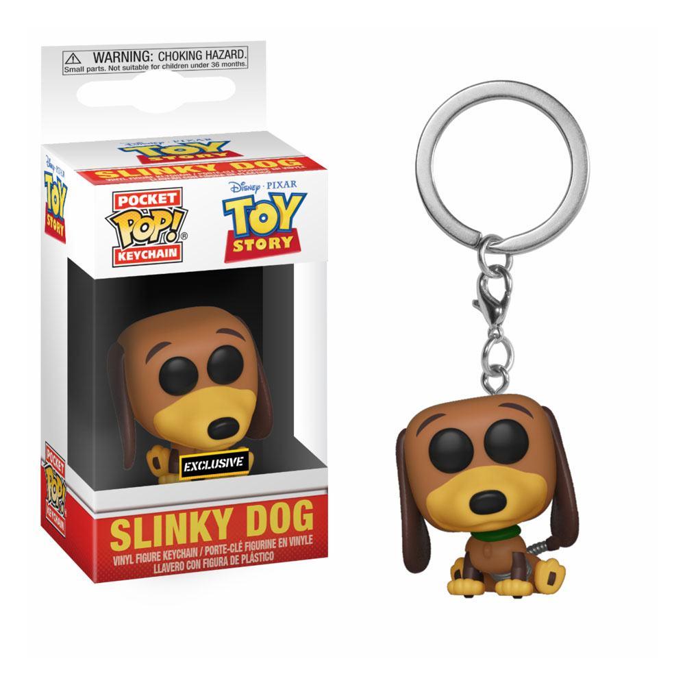 Toy Story Pocket POP! Vinyl Keychain Slinky Dog 4 cm