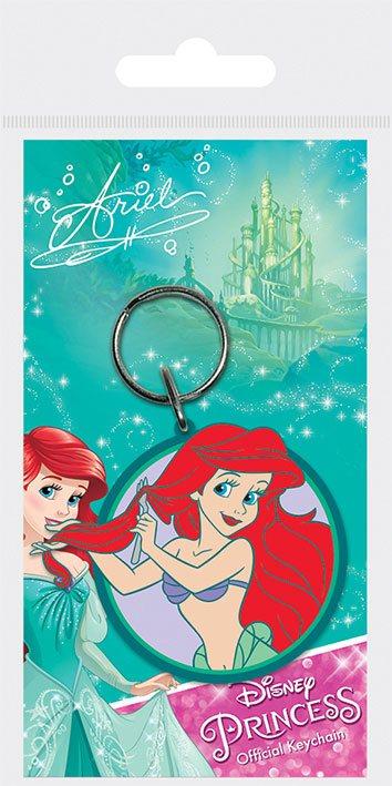Disney Princess Rubber Keychain Ariel 6 cm