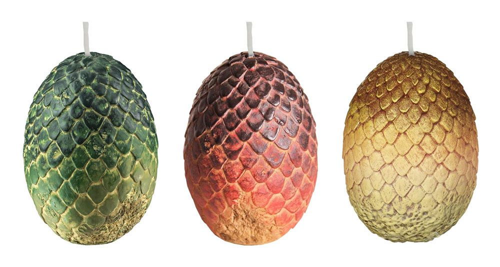 Game of Thrones Votive Candle Dragon Eggs 6 x 9 cm