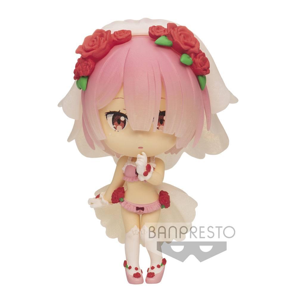 Re:Zero Starting Life in Another World ChiBi Kyun Figure Ram 6 cm