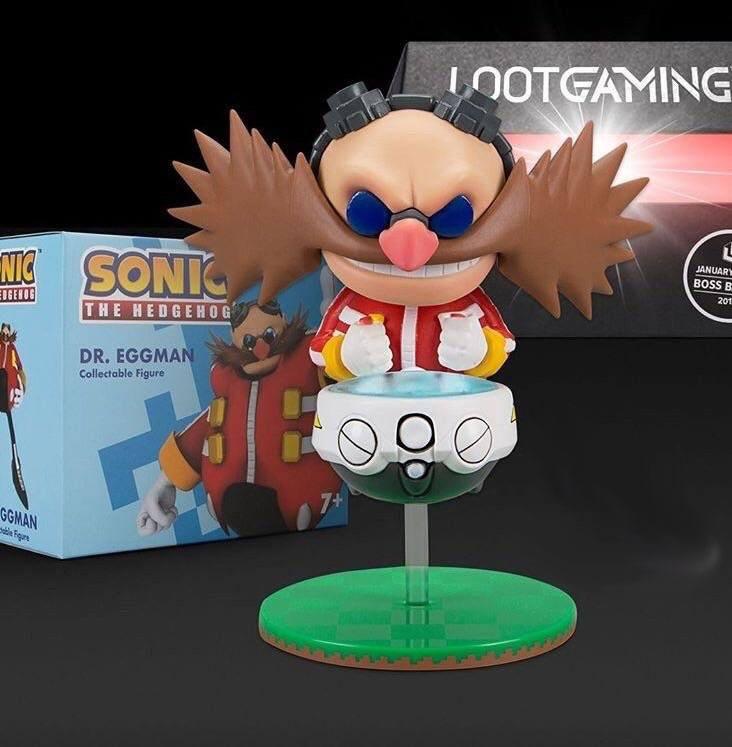 Sonic Figure Dr. Eggman Lootcrate Exclusive 10 cm